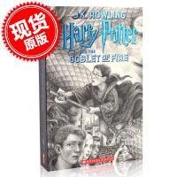 现货 哈利波特与火焰杯20周年纪念版4 英文原版 Harry Potter and the Goblet of Fir