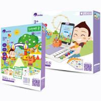 儿童逻辑思维训练第2阶段4-5岁早教益智逻辑派对玩具 AR逻辑题卡2阶+训练板+便携底座探测器