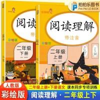 二年级阅读理解训练语文人教版部编版上册下册 2020春彩绘注音版