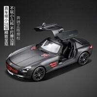 奔驰SLS车模原厂金属跑车合金汽车模型
