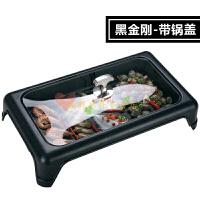 电烤鱼炉 电烤盘商用 家用电无烟烧烤自动控温不粘烤盘长方形