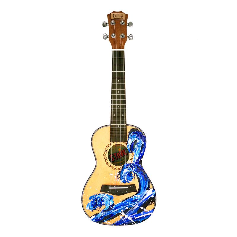 ????小石ukulele乌克丽丽26/23寸尤克里里初学者学生女小吉他儿童 发货周期:一般在付款后2-90天左右发货,具体发货时间请以与客服协商的时间为准