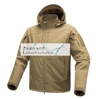 风神户外战术薄软壳衣 春秋男士防水登山徒步夹克外套上衣 2X