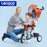 儿童三轮车脚踏车婴儿手推 小孩自行车免充气