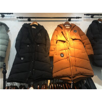 Z3棉衣女中长款韩版加厚棉袄冬天 外套女装处理冬装冬羽绒0.9