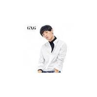 【GXG过年不打烊】GXG男装 冬季男士修身时尚都市青年流行休闲经典白色修身长袖衬衫