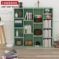 简约现代书架飘窗卧室小置物架简易学生客厅组合桌上落地书柜