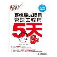 系统集成项目管理工程师5天修炼(第3版) 编者:黄少年//刘毅