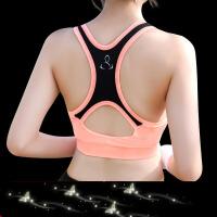 无钢圈运动文胸女夏聚拢防震跑步健身背心瑜伽薄款内衣防下垂bra