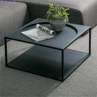 北欧创意家具金属小茶几小户型客厅个性铁艺桌子现代简约 整装
