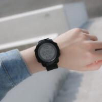 手表男学生男孩男童大屏智能潮流带闹钟的计时时尚运动电子表跑步秒表
