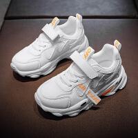 男童鞋子2020春款中大童春秋款运动白鞋