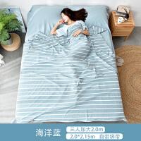旅行酒店隔脏睡袋纯棉单双人室内卫生床单被罩枕套水洗棉出差SN5801