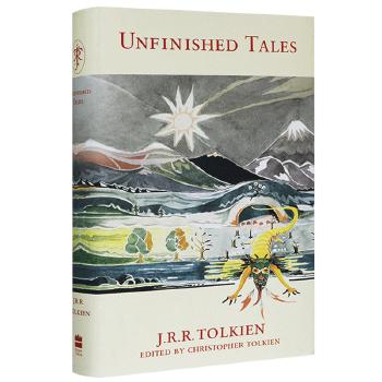 Unfinished Tales 英文原版小说 努门诺尔与中洲之未完的传说 指环王系外传 英文版现货正版进口英语书籍 精装收藏版 托尔金奇幻史诗指环王外传