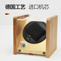 摇表器自动机械手表盒子上链器 自动表盒全进口马达转表器晃表器 白色 黄色内里2+0