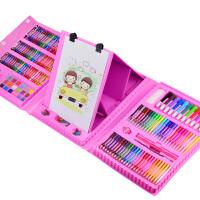 儿童画画套装绘画工具礼盒小学生水彩笔学习用品文具蜡笔生日礼物