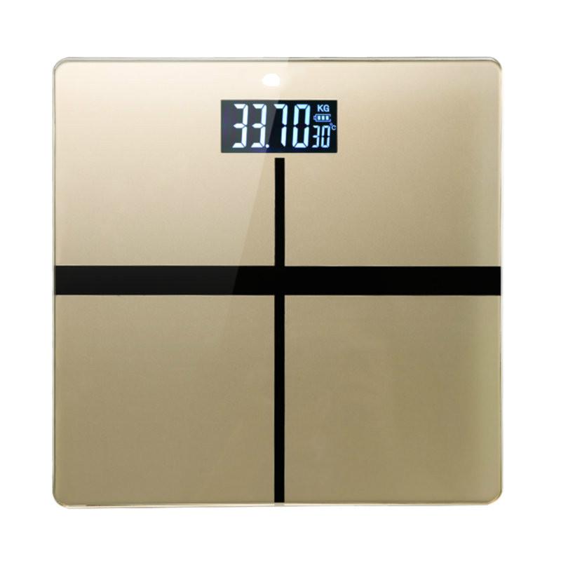 电子称精准人体秤家用体重秤称重称体重计USB充电可选 十字 金 - 7号电池 发货周期:一般在付款后2-90天左右发货,具体发货时间请以与客服协商的时间为准