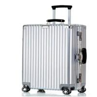 直角行李箱�f向�30寸金��W生拉�U箱女22寸�W�t男�凸�28寸旅行箱