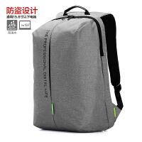 旅行防水防盗耐磨双肩电脑包15.6寸男女笔记本电脑包背包 15寸