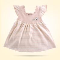 贝萌 新款女童连衣裙春夏装婴儿衣服彩棉公主百褶裙纯棉童裙子用品