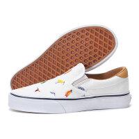 情侣款休闲硫化鞋Slip-On织物VN0A38GUNZ9