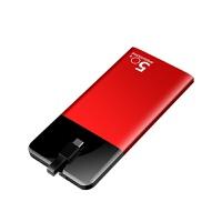充电宝大容量便携自带线充电宝苹果x快充移动电源小米手机通用毫安可爱卡通20000女 升级提速版 土豪金80000M【充