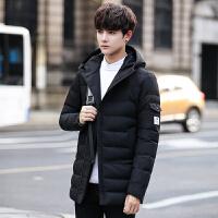 男士棉衣2017新款棉袄韩版学生潮流休闲帅气加绒加厚冬季外套冬装