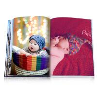 12寸80P旅行创意定制纪念册相册本大容量婚纱照片书相册diy制作
