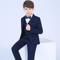 男童小西服中大童花童礼服小孩钢琴演出服外套儿童西装套装春款