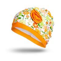 20180323054043923儿童泳帽 防水速 泳帽 时尚可爱印花泳帽