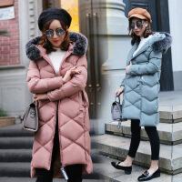 韩国棉衣女长款过膝加厚大码宽松外套冬季学生女装棉袄潮