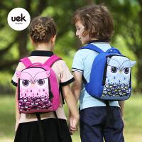 儿童男女孩1-3岁小宝宝书包猫头鹰双肩背包