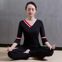 瑜伽服女春夏季新款套装 时尚健身运动舞蹈表演练功愈加服