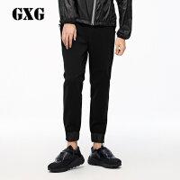 GXG&yatlas联名款 2017冬装 男士黑色运动束腿裤174802905