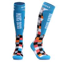滑雪袜 男女情侣款加厚高筒袜防寒保暖户外登山徒步袜子 均码