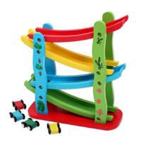 小皇帝 木质滑翔车 四层彩色滑翔车飞车儿童益智玩具 XHD4001