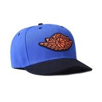 新款鸭舌帽篮球帽男女棒球帽公牛湖人火箭骑士科比詹姆斯帽子运动休闲帽 9820乔丹彩兰色