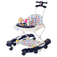 婴儿学步车多功能男宝宝女孩儿童手推可坐学行车