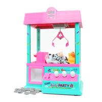 小型夹娃娃儿童女玩具USB迷你抓娃娃机机公仔糖果机