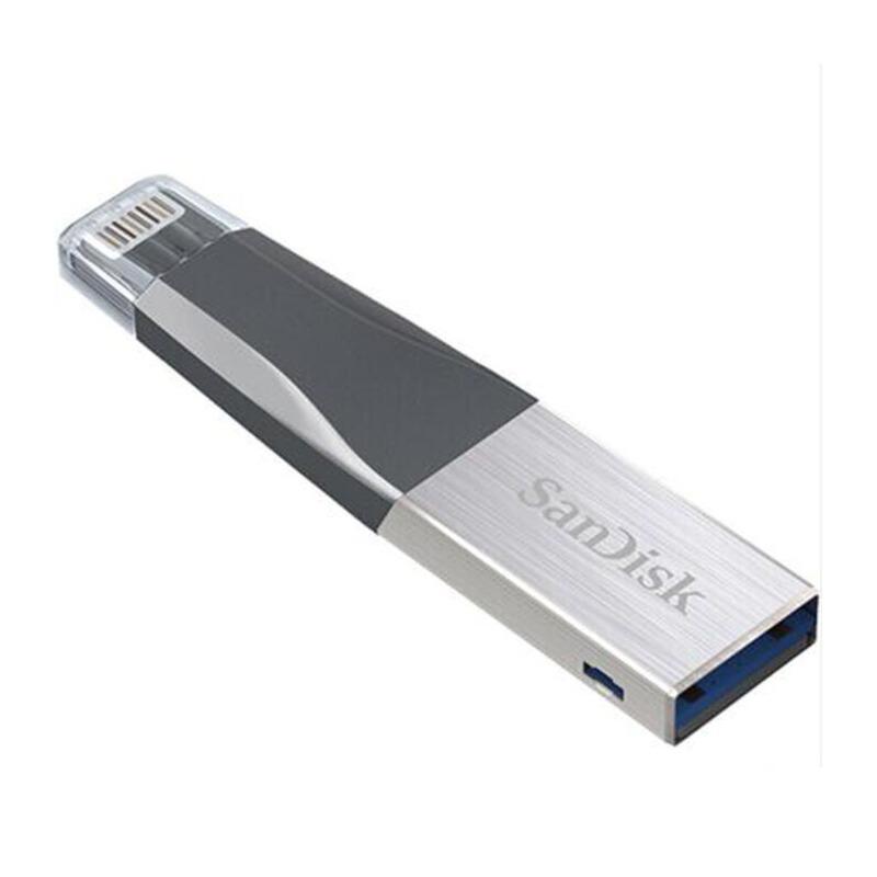 闪迪(SanDisk)16G 欣享苹果手机U盘 MFI认证 iPhone 优盘 16GB 苹果手机也可以插优盘了