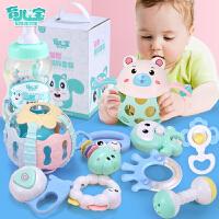 婴儿宝宝牙胶摇铃 0-1-3岁男孩女孩玩具0-3-4-6-8-12个月