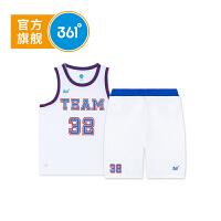 【4.30超品到手价:59.7】361度男童篮球套装夏季新款K51821462