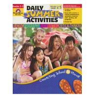 【首页抢券300-100】Evan Moor Daily Summer Activities Between Grade