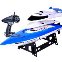 遥控船高速快艇大型电动玩具摇控船 轮船模型游艇赛艇水冷