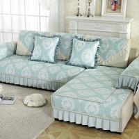 沙发套全包欧式123组合客厅沙发垫子布艺四季防滑坐垫印花