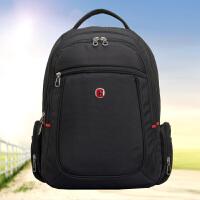 新款瑞士军刀双肩背包男礼品定制logo笔记本电脑包运动旅行包学生书包