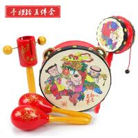【支持礼品卡】宝宝手拍鼓儿童拍拍鼓早教婴儿玩具适合0-1-3岁6- g5h