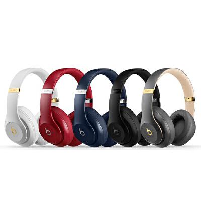 【大部分地区包邮】Beats Studio3 Wireless 录音师无线3代 头戴式 蓝牙无线降噪耳机 游戏耳机  含麦克风 蓝牙 带麦