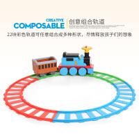 儿童电动车托马斯小火车可坐人带轨道电动玩具