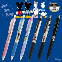 日本三菱UNI顺滑圆珠笔SXN-189DS迪士尼中油笔可换中性笔 0.5mm